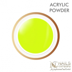 Puder akrylowy Neon Yellow- Nails Company