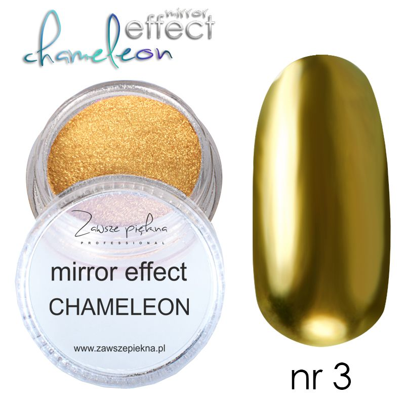 Mirror Effect Chameleon Pyłek Efekt Kameleona Na Paznokciach