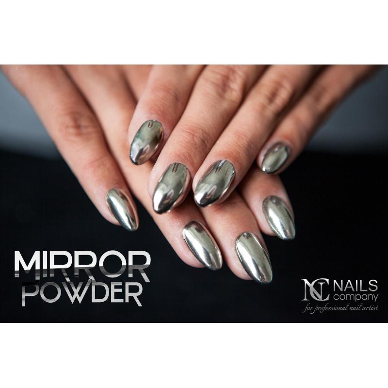 Efekt Lustra Efekt Szkła Mirror Powder Effect Nails Company