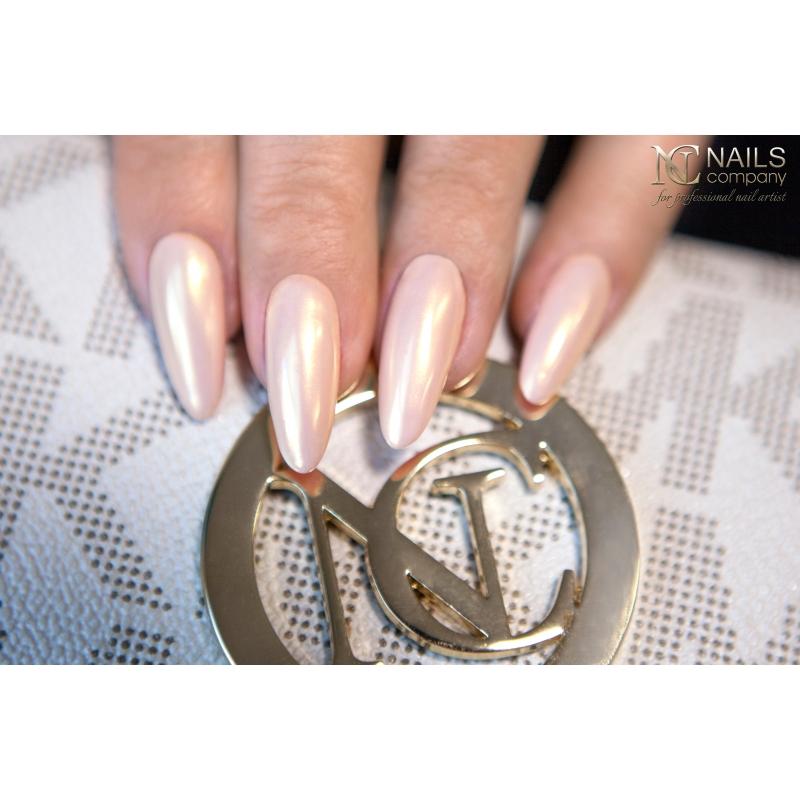 Gold Rush Powder Efekt Złota Złote Paznokcie Nails Company