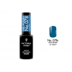 Lakier Hybrydowy Viktoria Vynn Gel Polish color Blue Denim 078c
