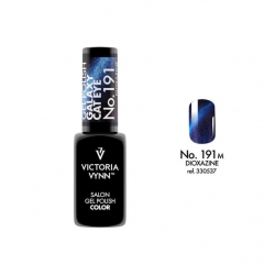 Lakier hybrydowy VICTORIA VYNN GALAXY CAT EYE 8 ml - Dioxazine 191