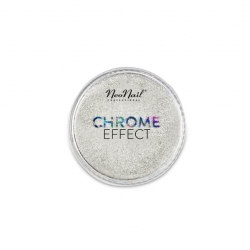 Puder Chrome Effect Silver NeoNail