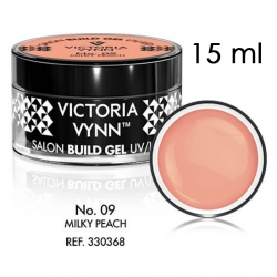 SALON BUILD GEL Żel budujący Victoria Vynn Milky Peach No 09 15ml