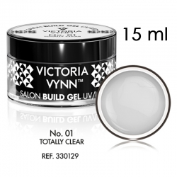 SALON BUILD GEL Żel budujący Victoria Vynn Totally Clear No 001 15 ml